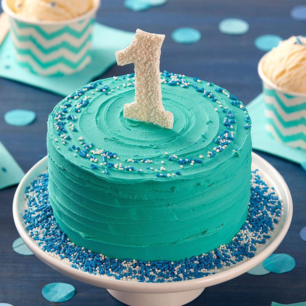 Birthday Cake For 1 Year Old  Your little one will love diving into this First Birthday