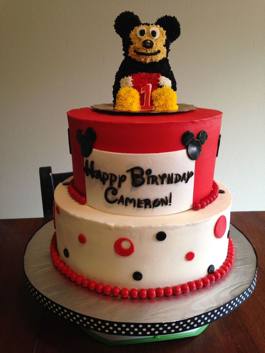 Birthday Cake For 1 Year Old  Birthday Cake For A 1 Year Old Little Boy Top Is A Smash