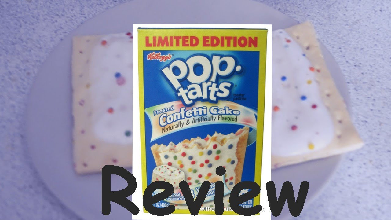 Birthday Cake Pop Tarts  Pop Tarts Birthday Cake Flavor Review