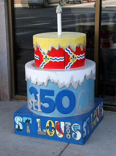 Birthday Cakes St Louis  How To Buy e of St Louis 250th Birthday Cakes