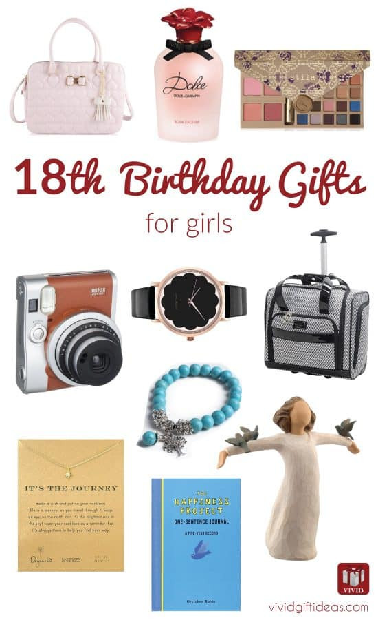 Birthday Gift Ideas For 18 Year Old Female  Best 18th Birthday Gifts for Girls