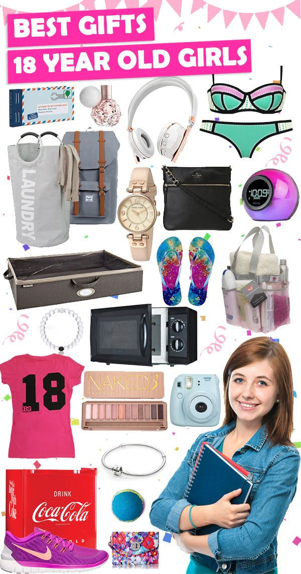 Birthday Gift Ideas For 18 Year Old Female  Pin on Gifts For Teen Girls