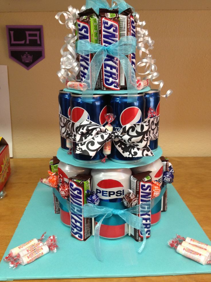 Birthday Gift Ideas For Teenage Girl  318 best images about Candy Bouquet & Candy Cakes on