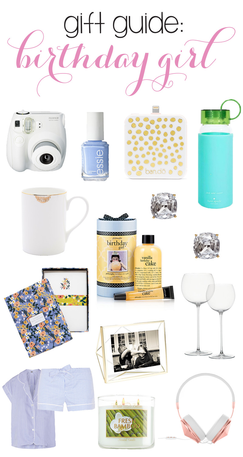 Birthday Gift Ideas For Teenage Girl  The Ultimate Birthday Girl Gift Guide Annie Belle