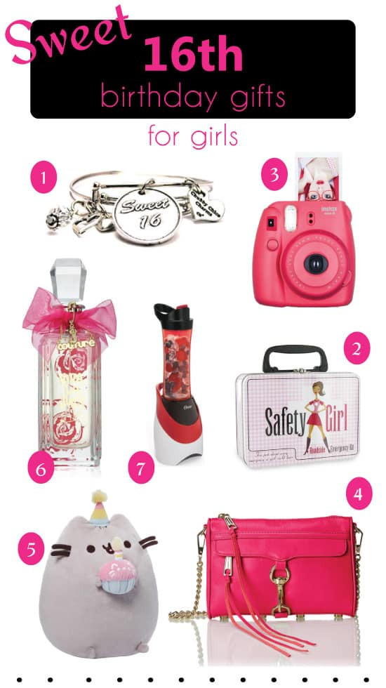 Birthday Gift Ideas For Teenage Girl  Sweet 16 Birthday Gifts Ideas for Girls That They ll Love