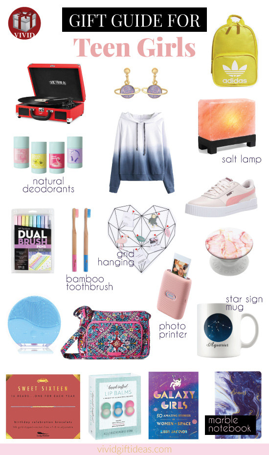 Birthday Gift Ideas For Teenage Girl  20 Unique Birthday Gifts for Teenage Girls 2020 Most