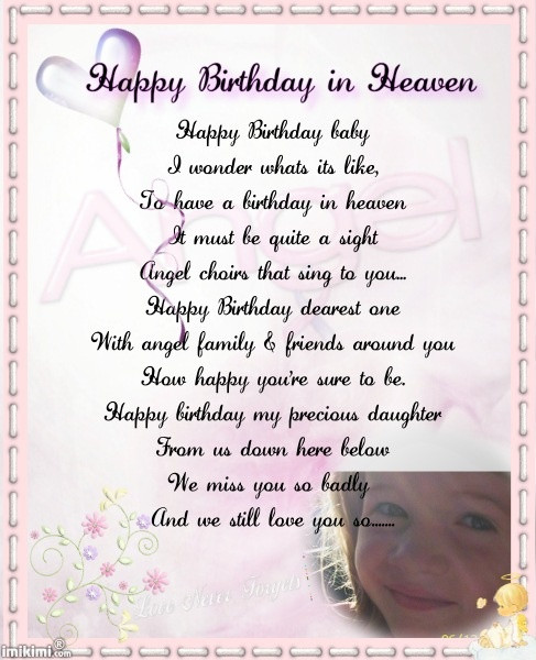 Birthday In Heaven Wishes  1000 images about celebrating birthday in heaven on