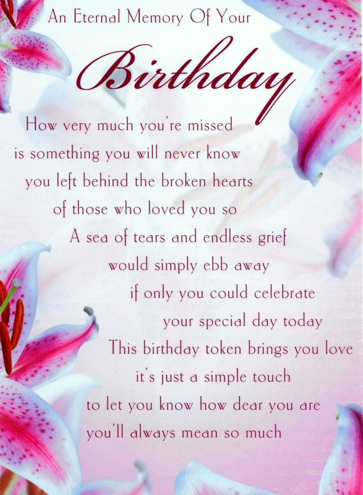 Birthday In Heaven Wishes  HAPPY BIRTHDAY QUOTES FOR MY MOM IN HEAVEN image quotes at