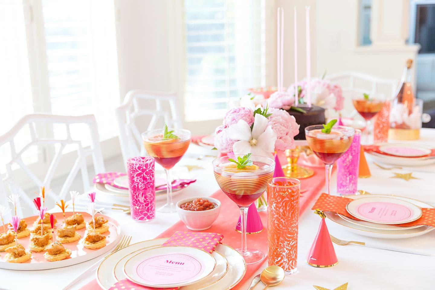 Birthday Party Decor  Creative Adult Birthday Party Ideas for the Girls