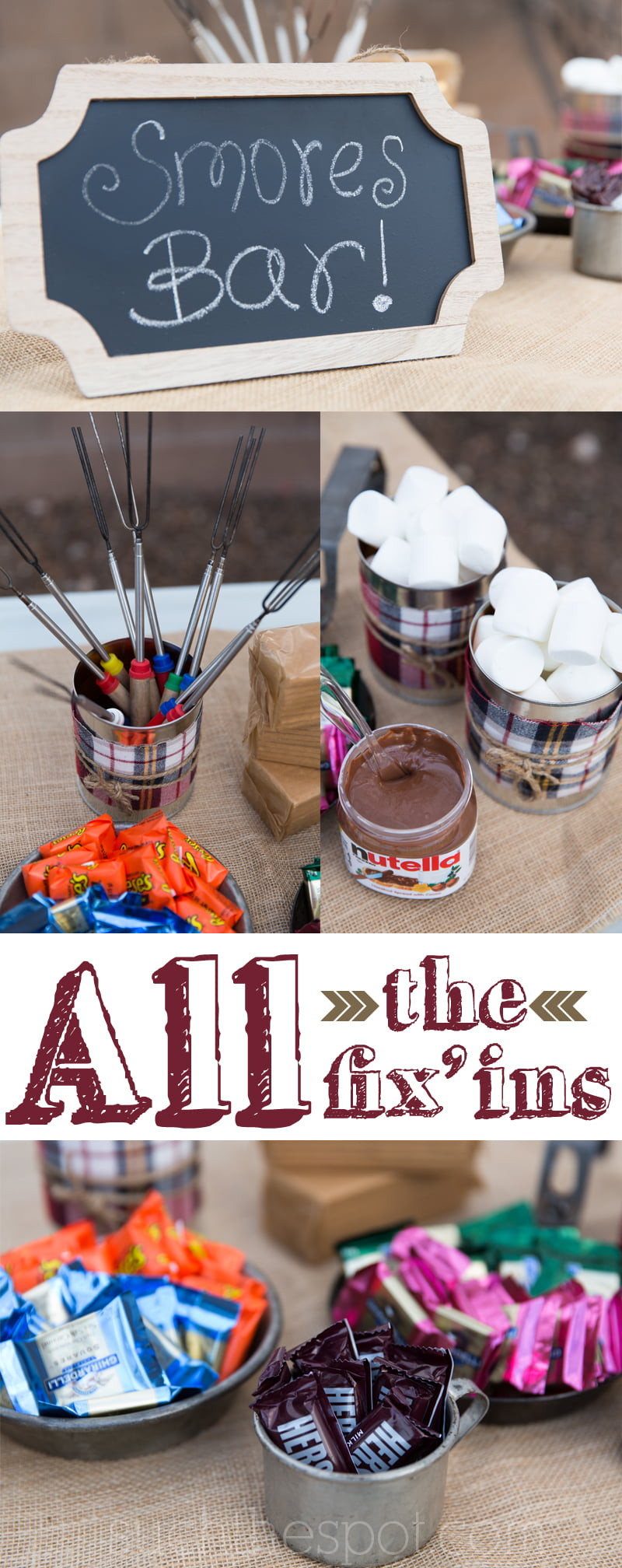 Birthday Party Decor  Bonfire Birthday Party Ideas for Food Decorations and Fun