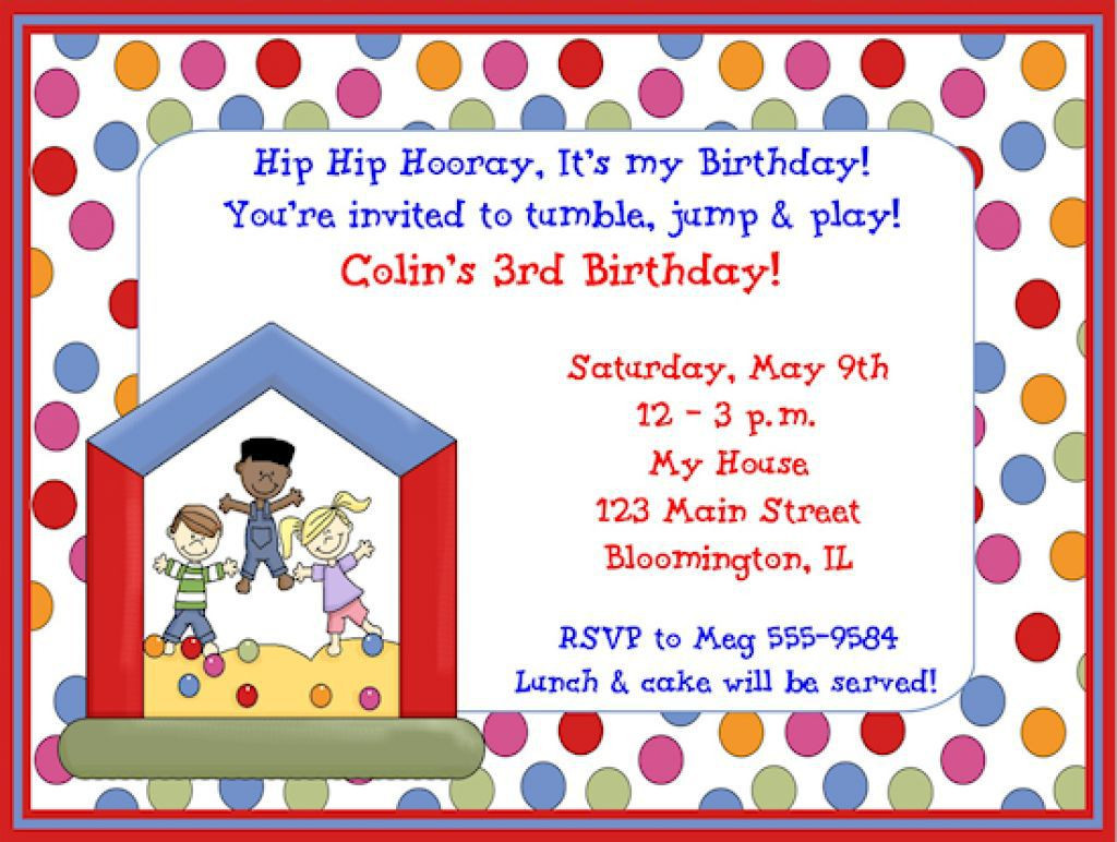 Birthday Party Invitations For Kids  FREE Kids Birthday Party Invitations – FREE Printable