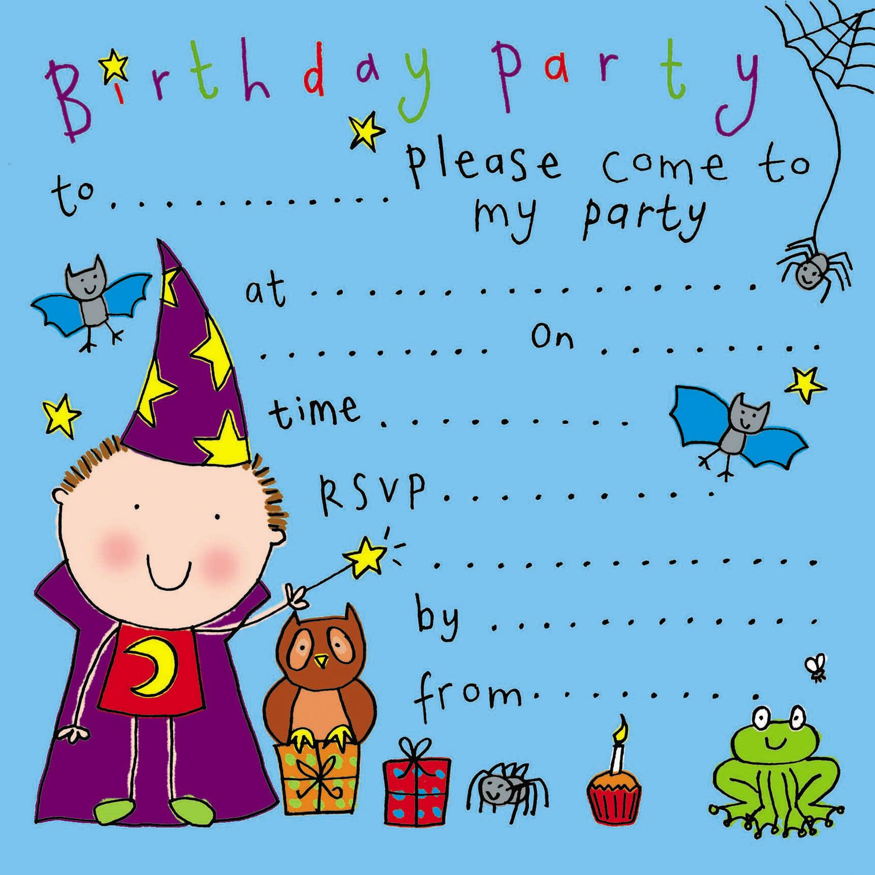 Birthday Party Invitations For Kids  party invitations birthday party invitations kids party
