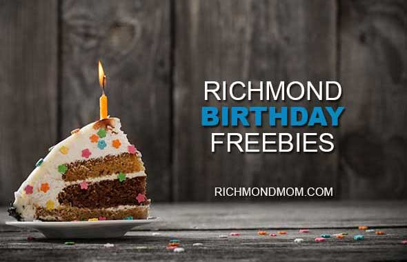 Birthday Party Richmond Va  Richmond Birthday Freebies Richmond Mom