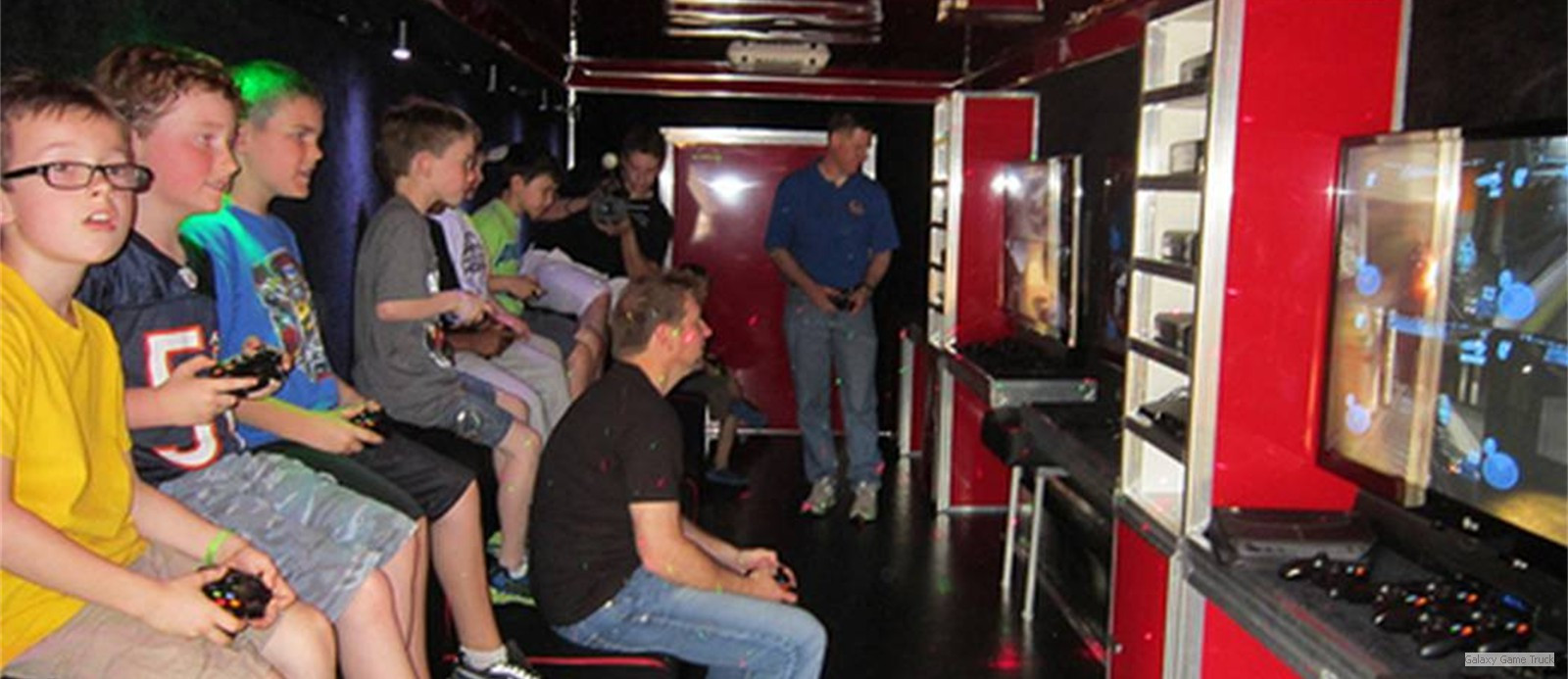 Birthday Party Richmond Va  Galaxy Game Truck Video Game Truck Best Birthday Party