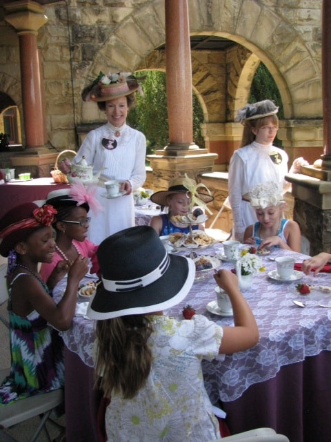 Birthday Party Richmond Va  Maymont birthday parties Richmond VA Victorian Tea party