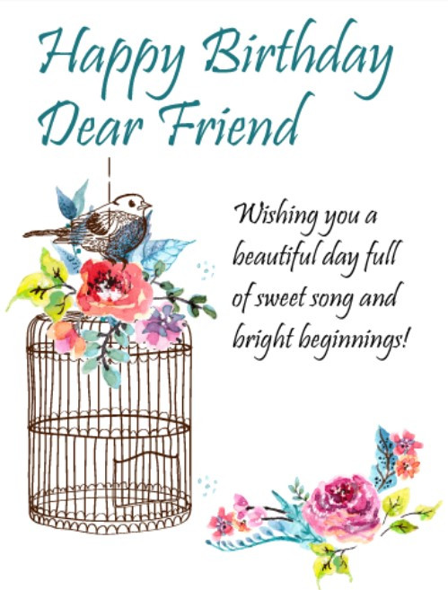 Birthday Wishes For Friend Funny  50 Best Happy Birthday Greetings to a Friend Quotes Yard