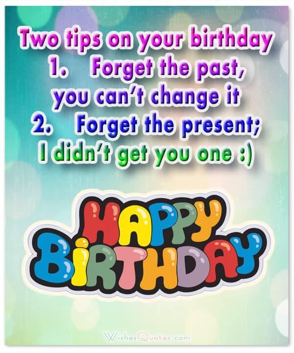 Birthday Wishes For Friend Funny  Funny Birthday Wishes for Friends and Ideas for Maximum