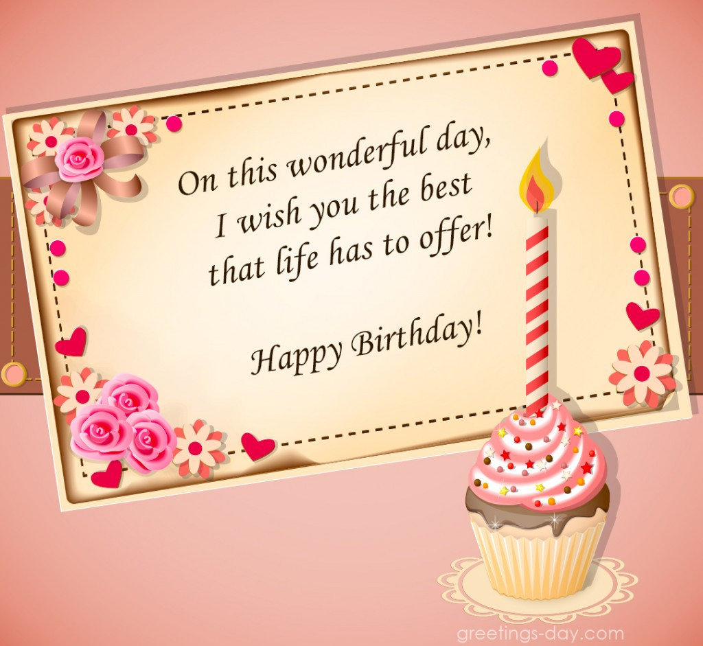 Birthday Wishes For Girl  Happy Birthday Pics for Girls Best Cards and