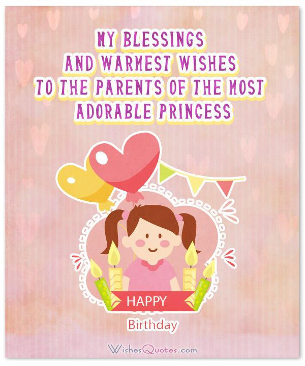 Birthday Wishes For Girl  Adorable Birthday Wishes for a Baby Girl By WishesQuotes