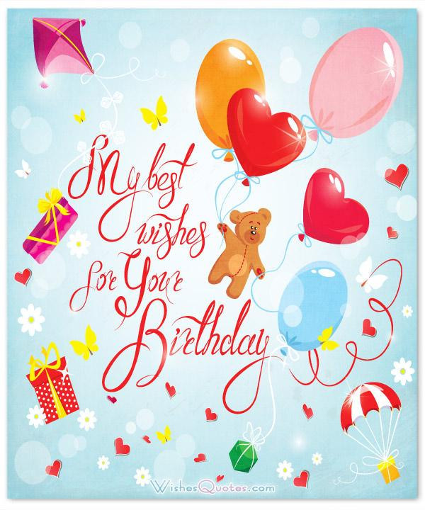 Birthday Wishes For Girl  Birthday Wishes for a Special Girl By WishesQuotes