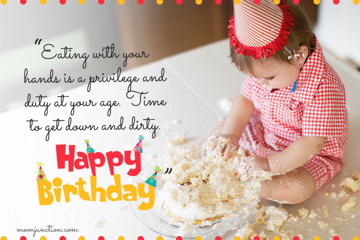Birthday Wishes For Girl  106 Wonderful 1st Birthday Wishes And Messages For Babies