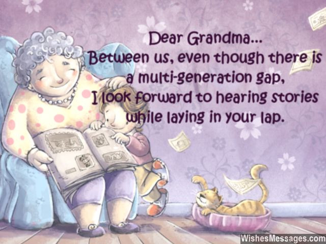 Birthday Wishes For Grandmother  Happy Birthday Grandma In Heaven Quotes QuotesGram