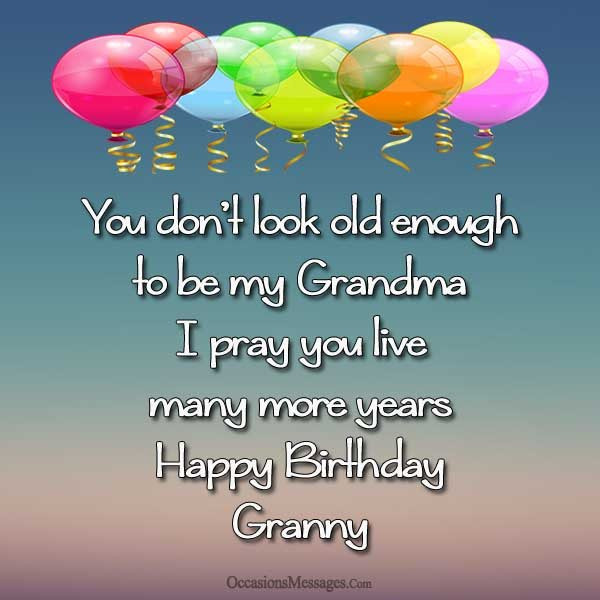 Birthday Wishes For Grandmother  Happy Birthday Wishes for Grandma Occasions Messages