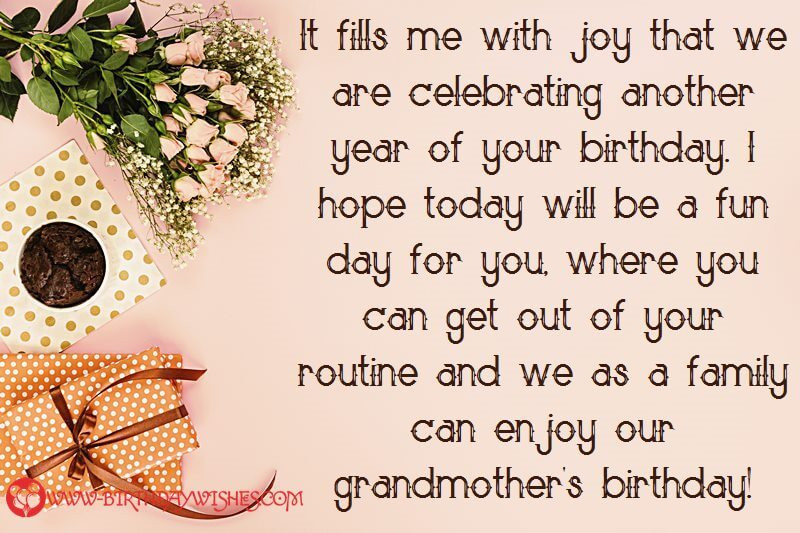 Birthday Wishes For Grandmother  Precious Birthday Wishes Messages & For Grandmother
