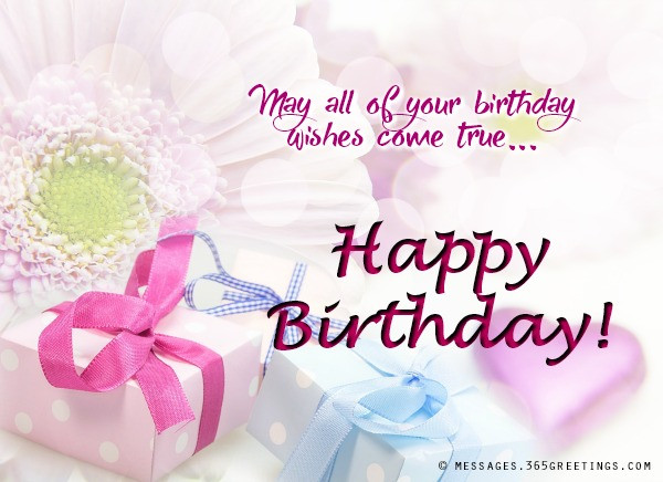 Birthday Wishes Message  Messages Wishes and Quotes 365greetings