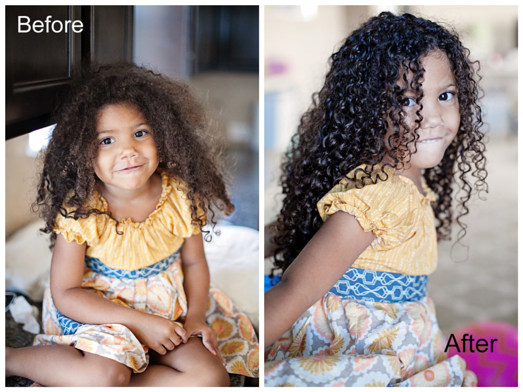 Black Child Hair Care  Biracial hair care routine for kids