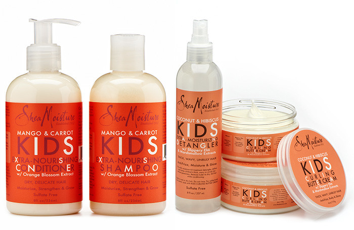 Black Child Hair Care  Review SheaMoisture Kids Hair Care Collection Natural