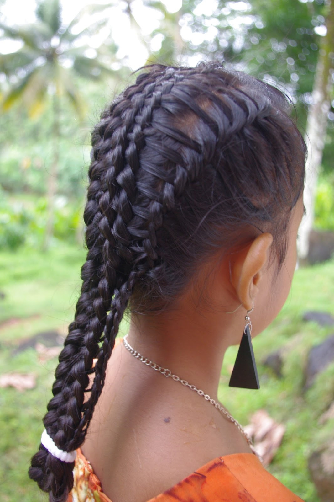 Braid Hairstyles With Weave  Braids & Hairstyles for Super Long Hair Micronesian Girl