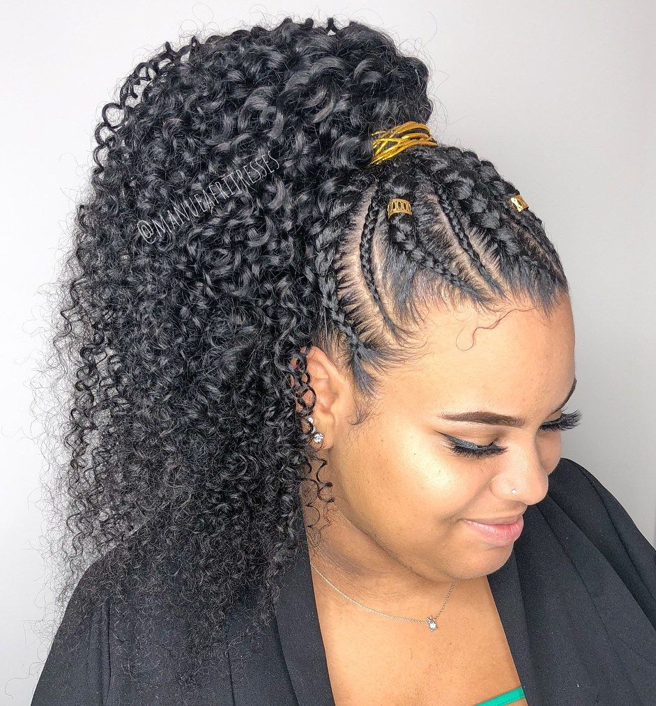 Braid Hairstyles With Weave  Stunning Braid Hairstyles With Weave