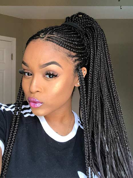 Braid Hairstyles With Weave  Braid Hairstyles with Weave That Will Turn Heads crazyforus
