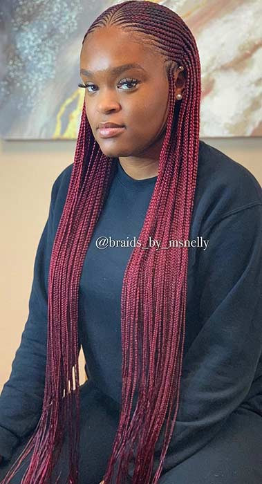 Braid Hairstyles With Weave  25 Braid Hairstyles with Weave That Will Turn Heads