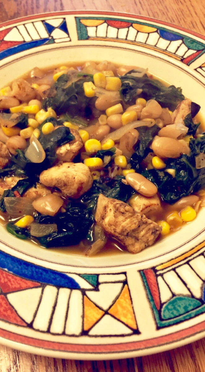 Bush'S White Bean Chicken Chili  White Bean Chicken Chili – Hangry with a side of Healthy