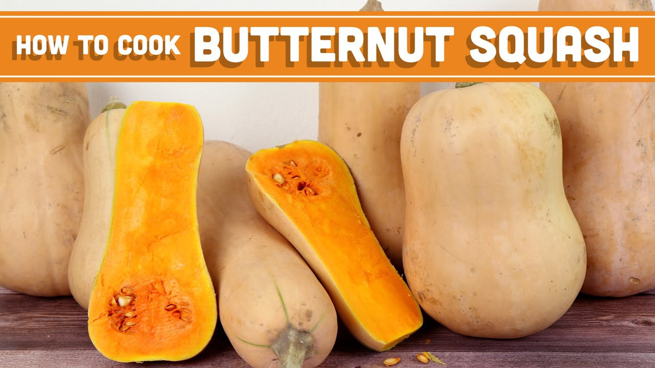 Butternut Squash Microwave  How To Cook Butternut Squash 4 Ways Mind Over Munch