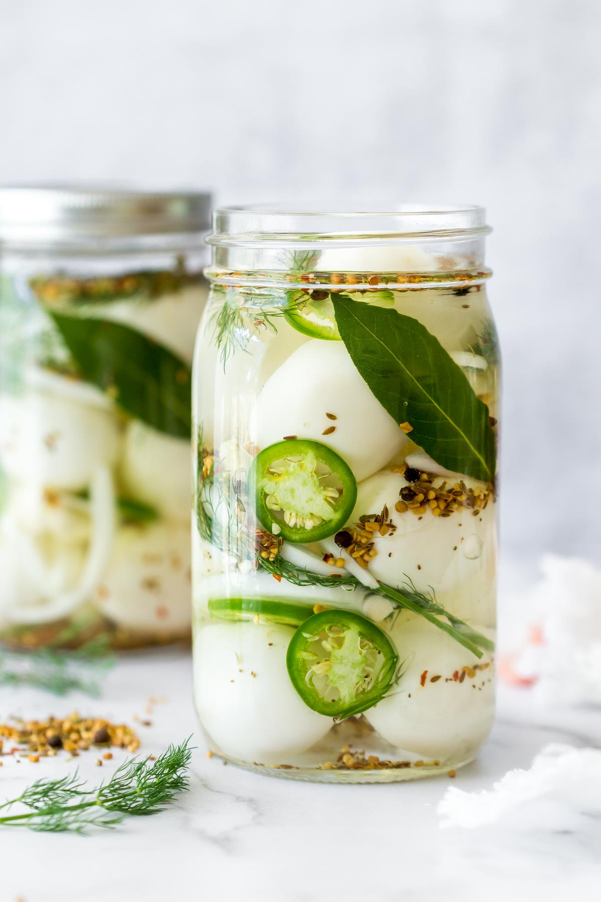 Canning Pickled Eggs  Spicy Pickled Eggs Recipe No Canning Necessary Simply