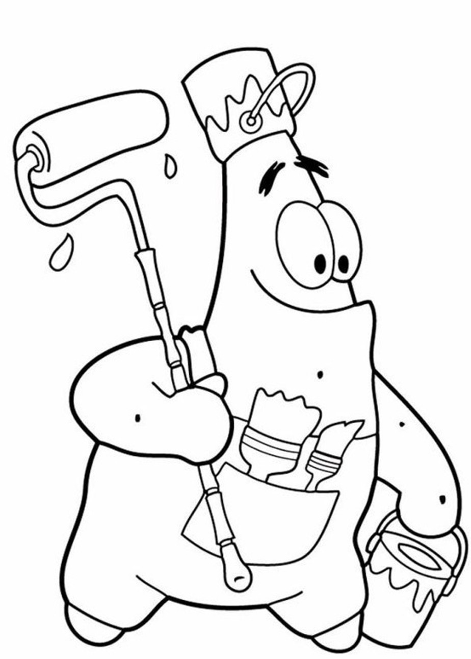 Cartoon Coloring Pages For Kids  Cartoon Coloring Pages For Kids at GetColorings