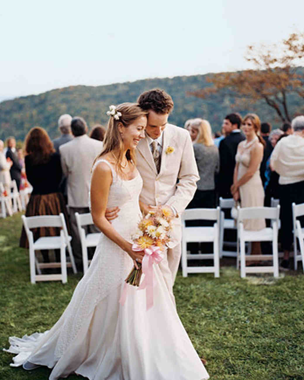 Casual Backyard Weddings  A Vibrant Casual Outdoor Wedding in Tennessee