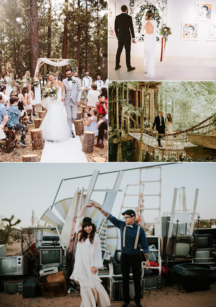 Casual Wedding Themes  Cool Casual Wedding Ideas for Low Key Couples