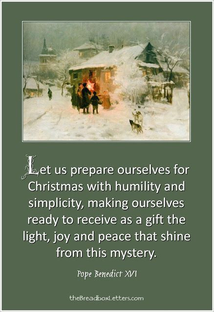 Catholic Christmas Quotes  33 best images about Christmas on Pinterest