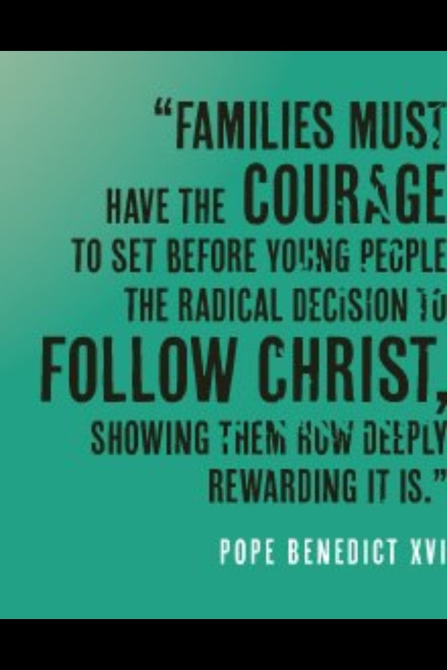 Catholic Quotes On Family  180 best images about Marriage & Family on Pinterest