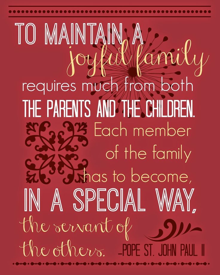 Catholic Quotes On Family  180 best Marriage & Family images on Pinterest