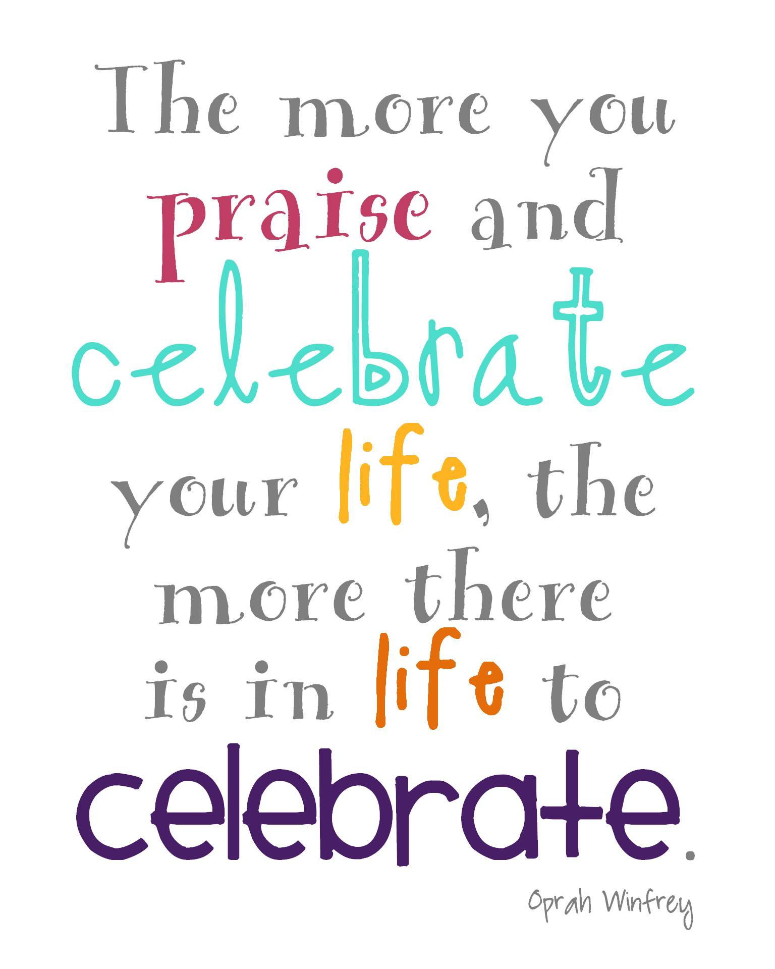 Celebration Of Life Quotes  Celebration Quotes QuotesGram
