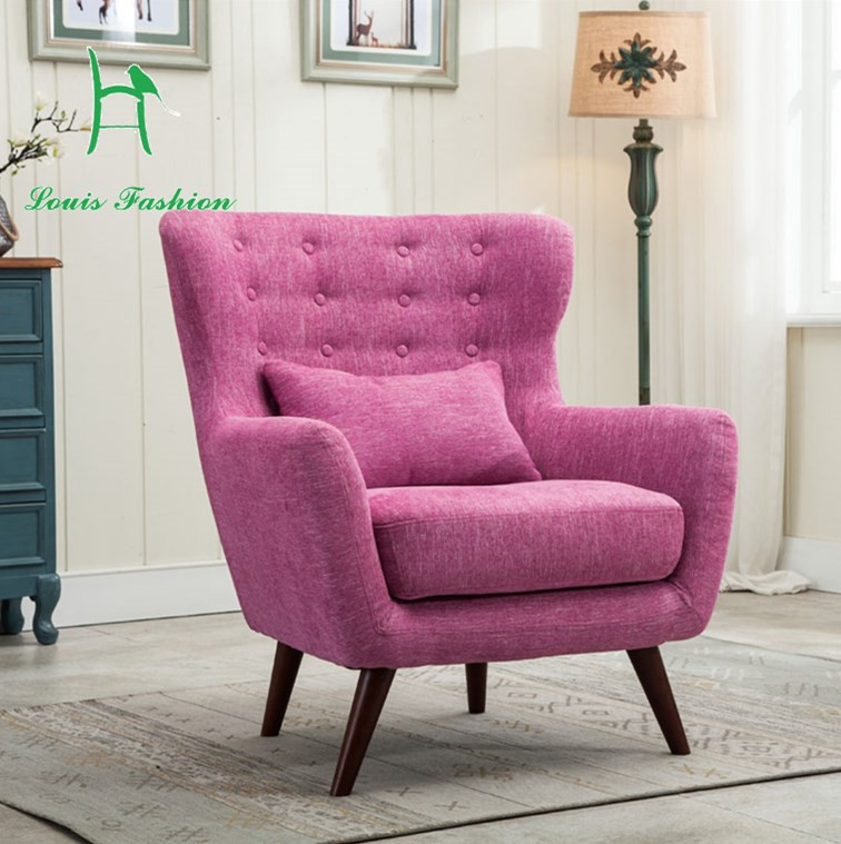 Chair For Small Bedroom  Contracted the Nordic single person sofa chair small