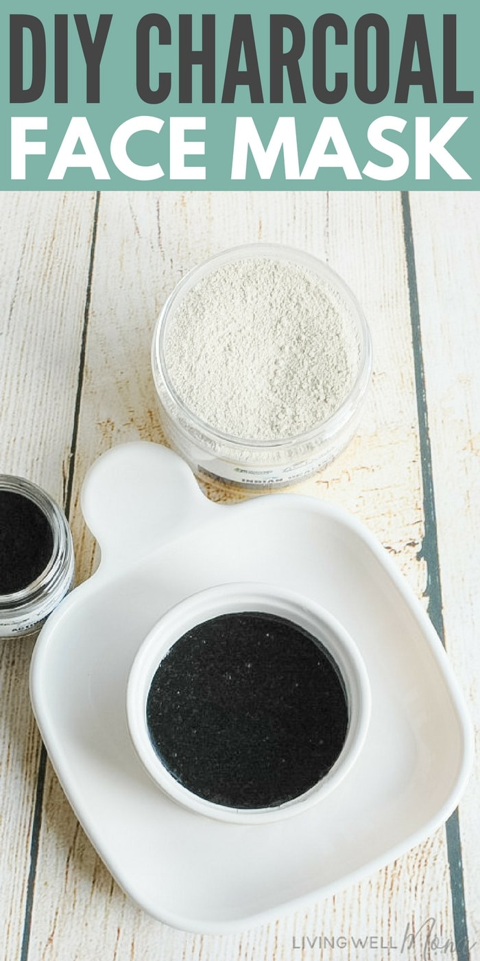 Charcoal Face Mask DIY  DIY Charcoal Face Mask Recipe Living Well Mom