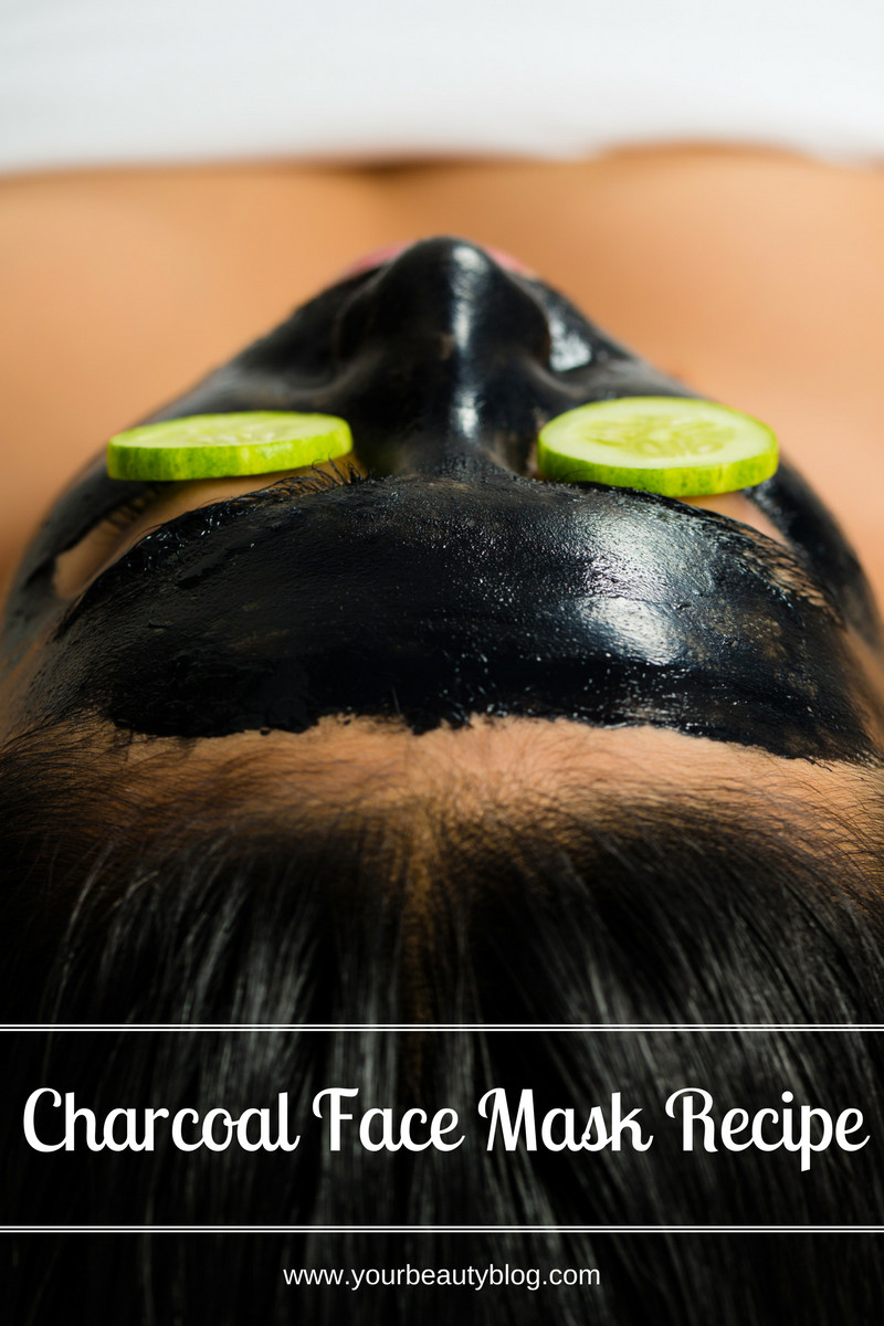 Charcoal Face Mask DIY  DIY Charcoal Face Mask Recipe Everything Pretty