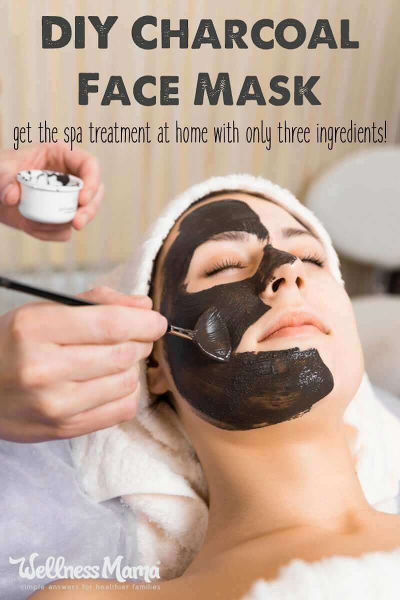 Charcoal Face Mask DIY  DIY Charcoal Face Mask Recipe ly 3 Ingre nts