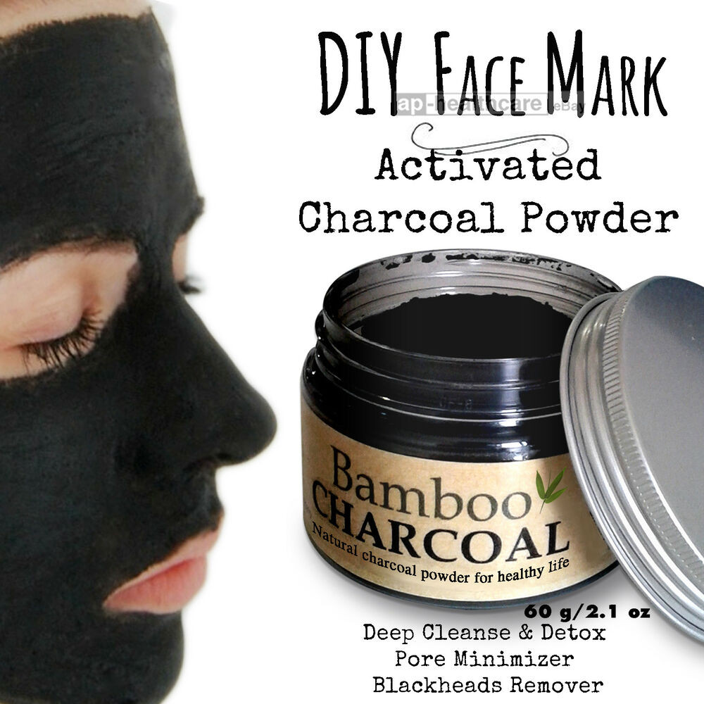 Charcoal Face Mask DIY  DIY Face Mask Activated Charcoal Powder Deep Cleanse Detox